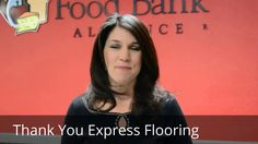 Express Flooring Contribution to St. Mary's Food Bank