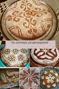 #φανουρόπιτα Greek Cake, Cypriot Food, Greek Cooking, Sweets Cake, Greek Recipes, Diy Crafts Videos, Plant Based Recipes, Christmas Baking, Healthy Desserts