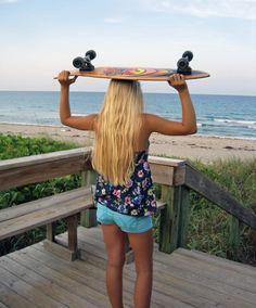 Longboarder.