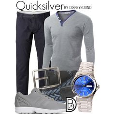 info for 9d1bd bc03b Quicksilver by leslieakay on Polyvore featuring Andersons Belts, adidas,  Casio, SELECTED, Doublju