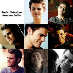 He deserved so much more than what he got ♥ H deserved to live a long and happy vampire life with Elena Paul Wesley Vampire Diaries, Vampire Diaries Damon, Vampire Diaries Funny, Vampire Diaries The Originals, Stefan Tvd, Stefan Salvatore, Popular Movie Quotes, Bonnie And Enzo, Ian Somerhalder Vampire Diaries