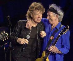 Mick Jagger & Keith Richards ❤