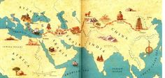 Marco Polo's journey across the heartland of Asia from Europe to China along the old Silk Road has long been the stuff of mystery and romance.