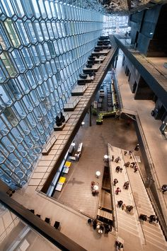 Iceland - Reykjavik - Harpa Interior 12_DSC4642 | The atrium… | Flickr - Photo Sharing!