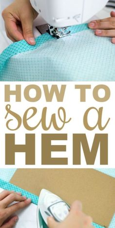 Exceptional 30 Sewing tutorials tips are offered on our website. Take a look and you wont be sorry you did. Diy Sewing Projects, Sewing Projects For Beginners, Sewing Hacks, Sewing Tutorials, Sewing Crafts, Sewing Tips, Crafts To Sew, Sewing Ideas, Easy Projects