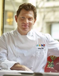 Watch Bobby Flay on Food Network as he makes lots of healthy recipes fresh from the grill...