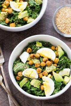 Recipes-Salad on Pinterest | Quinoa Salad, Salad and Kale Salads