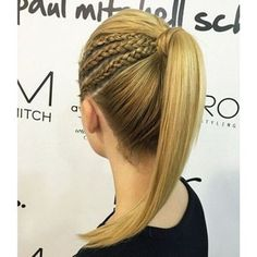 15 Adorable French Braid Ponytails for Long Hair