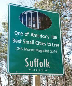Why Live in Suffolk, VA? Read our blog and learn more about Suffolk. Then use Cruvita.com to find the best schools and homes in the area.