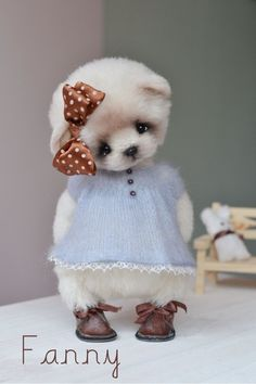 Teddy Bears handmade.  Fair Masters - handmade.  Buy Fanny.  Handmade.  Bear, 100% alpaca, minishtoff  by Natalia Dadykin