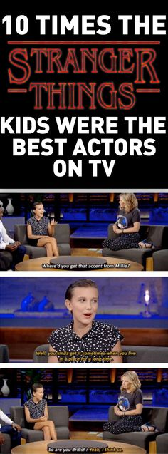 10 Times the Stranger Things Cast We The Best Actors on TV lol, funny stuff, stranger things, Millie Bobby Brown, Netflix,