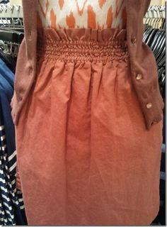 J Crew comfy skirt DIY