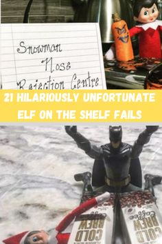 If you're feeling stressed out about your next hiding spot, here's a funny collection of Elf on Shelf fails.
