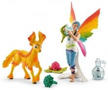 Dunya with Foal Bayala Rainbow elf and pet gift set Schleich 2016 figure | www.minizoo.com.au