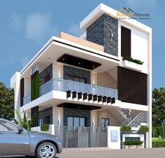 House Outer Design, House Roof Design, Modern Small House Design, House Outside Design, Home Modern, Home Building Design, Bungalow House Design, Modern Bungalow, Architect Design House