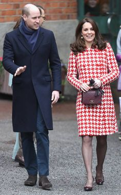 The Duke and Duchess of Cambridge visit the Karolinska Institute in Stockholm, Sweden, January 31, 2018