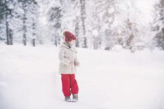 Children and family photography. Winter.