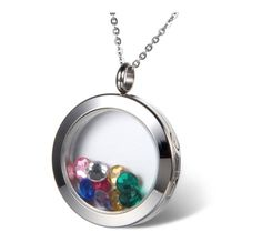 living memory necklace, pendant can be open to put photos