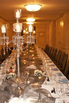 Beautiful Head table!  #wedding #decor #reception