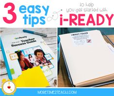 How To Implement i-Ready In Your Classroom - More Time 2 Teach