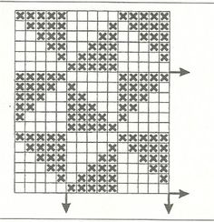 Filet Crochet, Crochet Diagram, Crochet Art, Tapestry Crochet, Crochet Granny, Crochet Doilies, Crochet Stitches, Crochet For Beginners Headband, Stitch Patterns