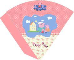 CALLY'S  DESIGN-Kits Personalizados Gratuitos: Kit de Aniversário para Imprimir Tema Peppa Pig