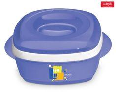 Milton Milano Plastic Casserole  (1.42 L) (Blue) Buy Online Best Price
