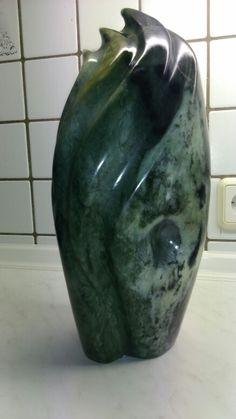 Exceptional Speckstein Skulptur Von Annevo