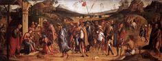 Lorenzo Costa, il Vecchio - Adorazione dei Magi - 1499 - Pinacoteca di Brera, Milano