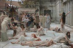 Women of Amphissa | Lawrence Alma-Tadema