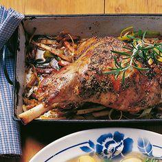 Lamm aus dem Ofen Rezept | Küchengötter