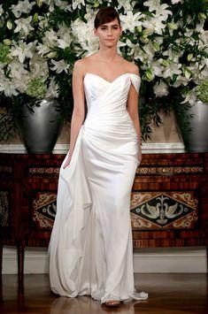 Editor's Pick: Romona Keveza Wedding Dresses. To see more: http://www.modwedding.com/2014/03/24/editors-pick-romona-keveza-wedding-dresses/ #wedding #weddings #fashion #dress