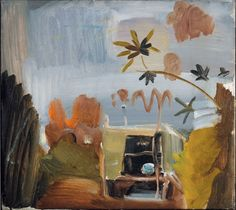 The Caravan, Greensleeves Photo courtesy Jonathan Clark Fine Art, London. © Estate of Ivon Hitchens. Contemporary Landscape, Contemporary Artists, Garden Painting, Old Master, Figurative Art, Malm, Landscape Paintings, Abstract Art, Illustration Art