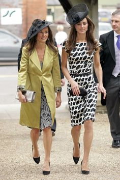 6/11/2011: Wedding of Sam Waley-Cohen & Bella Ballin, with Pippa Middleton (Hungerford, Berkshire)