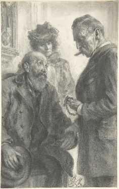 Adolph Menzel (1815-1905) - Doctor and Patient, 1899