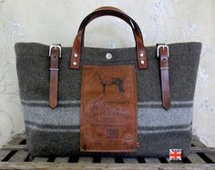 BF Equine Utility Bag by Bravura on Etsy
