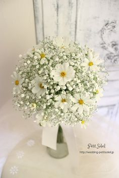 Excellent Toddler Shower Centerpiece Tips 48 Ideas Flowers Wedding Bouquet Babies Breath Bride Bouquets, Flower Bouquet Wedding, Gypsophila Bouquet, Bouquet Flowers, Purple Flowers, Bouquet Champetre, Wedding Reception Planning, Hand Bouquet, Deco Floral