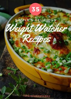 35 Weight Watcher Recipes With Points That You Will Go Crazy For!