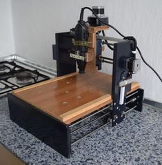 DIY CNC for Less of With Arduino : 7 Steps (with Pictures) - Instructables Cnc Router Plans, Cnc Router Bits, Diy Cnc Router, Cnc Plans, Cnc Woodworking, Woodworking Projects, Youtube Woodworking, Woodworking Equipment, Woodworking Videos