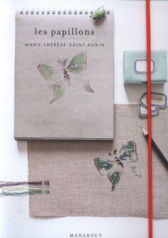 Gallery.ru / Фото #1 - Marie-Therese Saint-Aubin_Les papillons - Gala40
