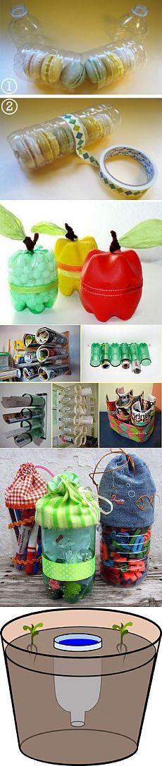 14 малоизвестных фактов о пластиковой бутылке и поделки из них | STENA.ee