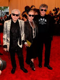 Met Gala 2013: Punk Chaos to Couture  - Blondie, Debbie Harry in Tommy Hilfiger