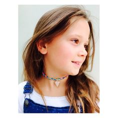 Mini Renné for all the little ones who want to join in the jewellery craze. Another take on our Liberty Wrap, wear as a choker/necklace. Perfect for you or your little one! Add charms too, this is our small heart charm. Find them online www.rennejewellery.co.uk