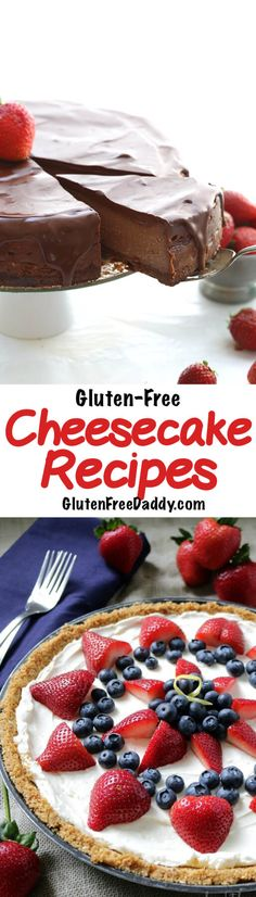 - These are 25 of the best ever gluten-free cheesecake recipes. You can make your favorite cheesecake dessert recipes gluten-free now.