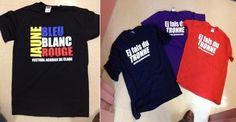 Vous cherchez un bon cadeau pour vos amis et famille!? Le Festival acadien de Clare à juste la chose pour vous! Nous avons à vendre les chemises « Ej fais du tronne » et « Blue,Blanc, Rouge et Jaune » du Festival! En vente au bureau du Festival (ESDC, La Butte). Ils sont seulement 20$ chaque! En plus, quand vous acheter une chemise, votre nom sera mis dans une loterie pour la chance à gagner 2 billets des spectacles de 2013!