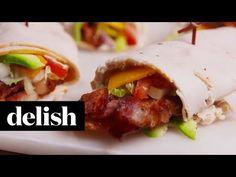Best Turkey Club Roll-Ups Recipe - How to Make Turkey Club Roll-Ups