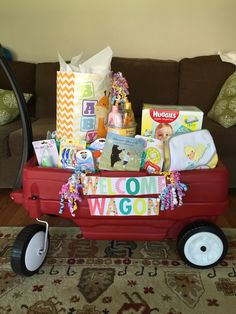 Best shower gift... Welcome wagon!
