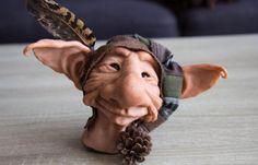 Troll Bust Alred by ShirleysStudio