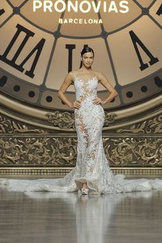 Verda style - Tulle & French Lace & Embroidery Atelier Pronovias 2016 **Will be Available on Loaner this Fall (2015)** $24,000