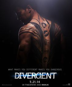 Tobias (Four) - Divergent :))))  Coming to theaters: 3.21.14